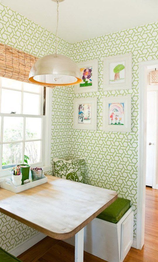 13 Breakfast Nook Ideas for your Small Kitchen #smallkitchenremodeling