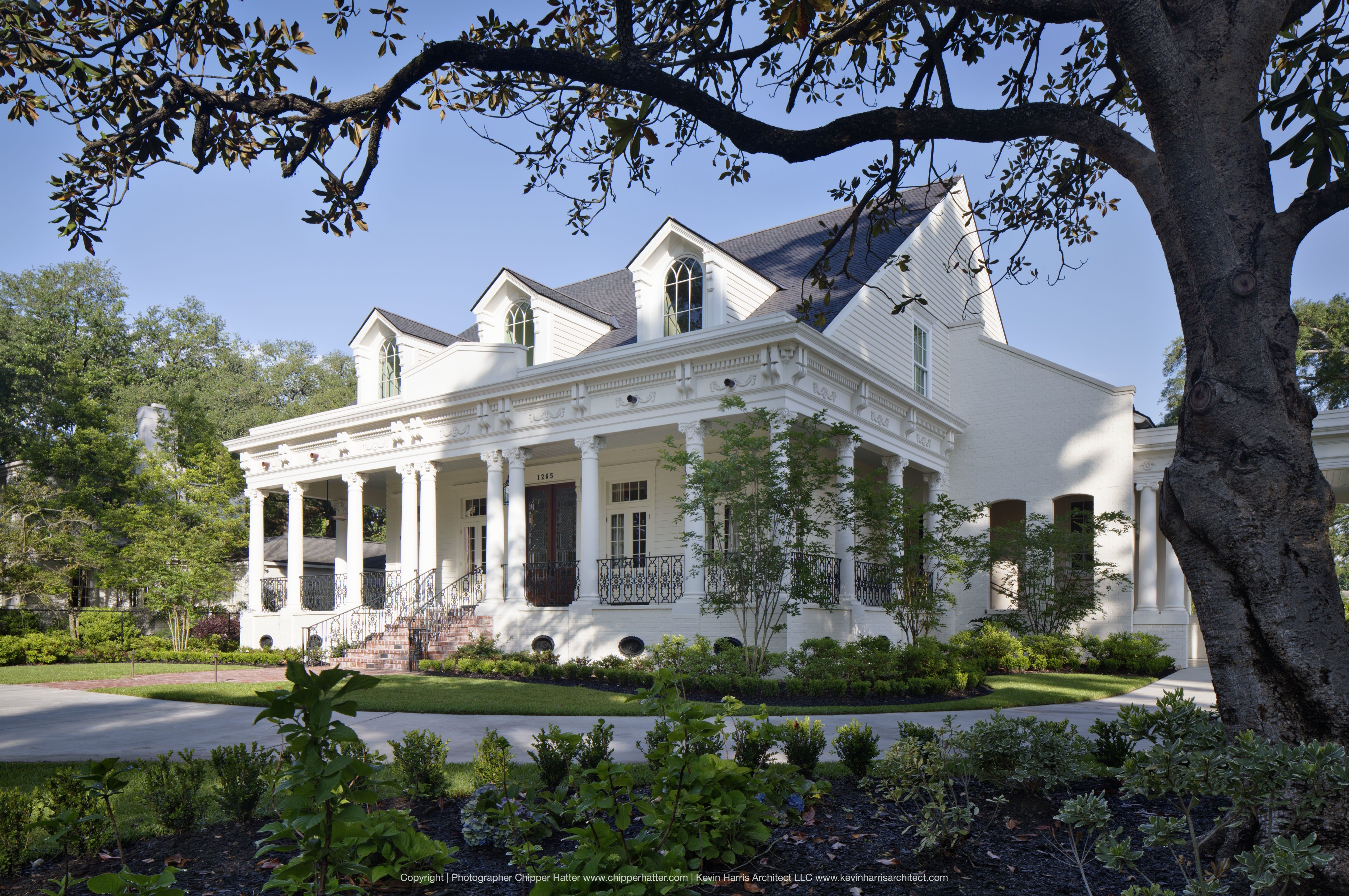 KEVIN HARRIS ARCHITECT, LLC Southern architecture, House
