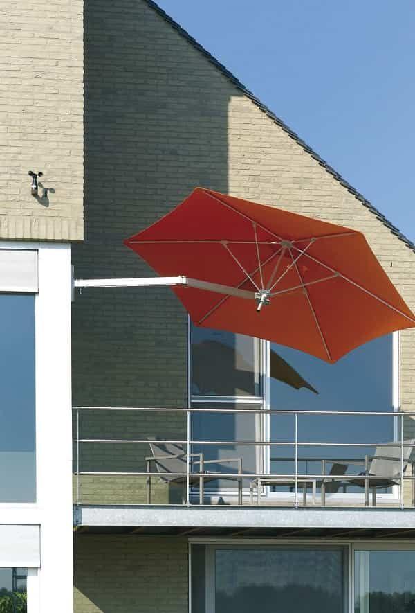 Flexible Wall Mount Patio Umbrella That