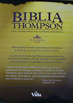 Biblia De Estudio Thompson Biblia De Estudio Thompson