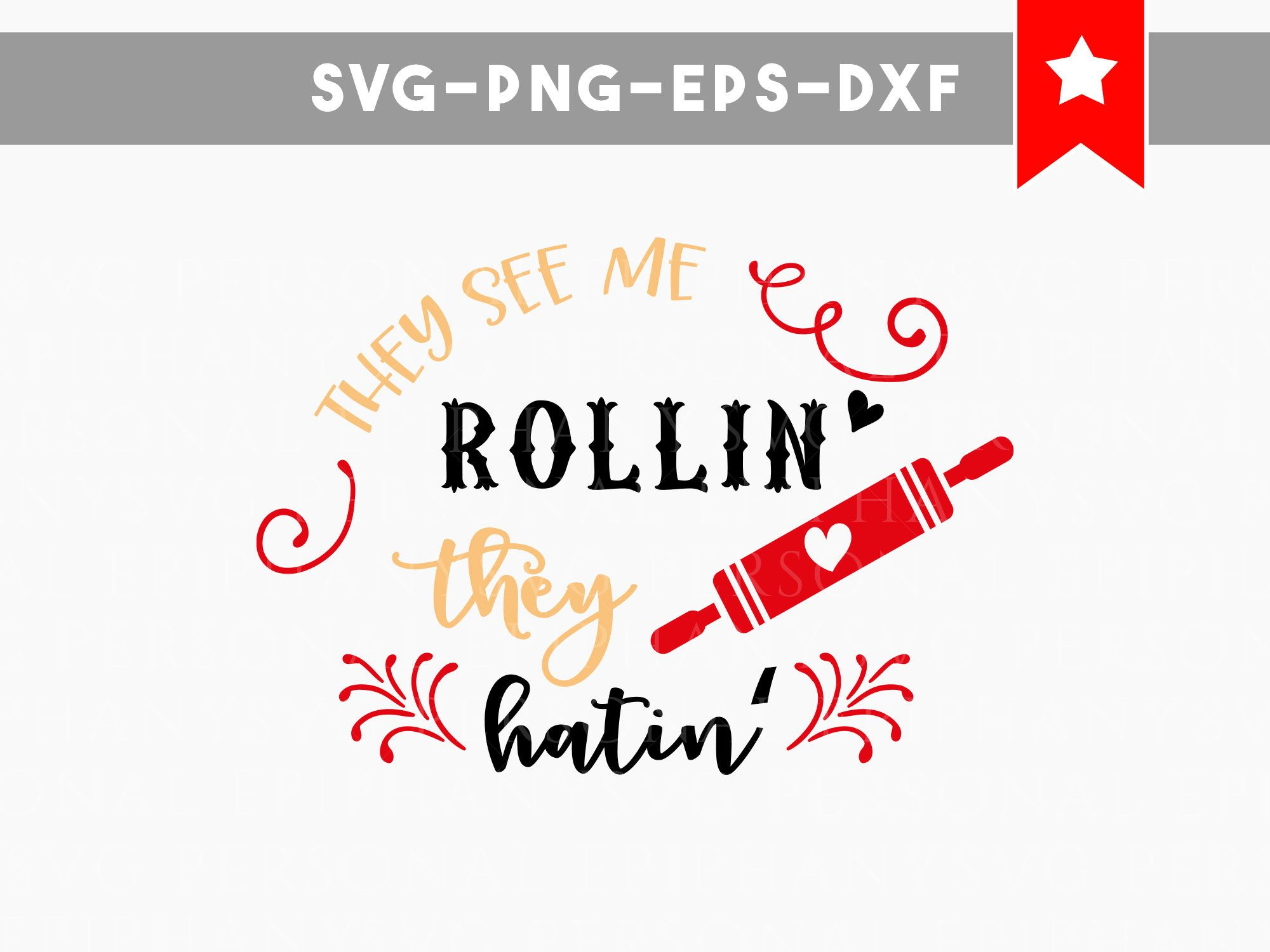 they see me rollin svg, funny kitchen svg, kitchen towel svg, wood ...