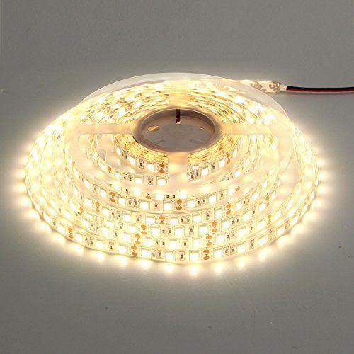 Ledmy楽的美 Ledテープライト3528 300連smd 正面発光 Ip62 3000k クリーム Dc12v Lamp Home Decor Led