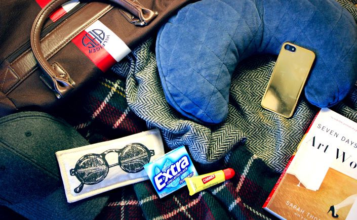 Getting Carried Away- What To Pack in a Carry-On #travel #travelbasics #travelessentials #carryon #airport #bag #scarf #necessities #easytravel