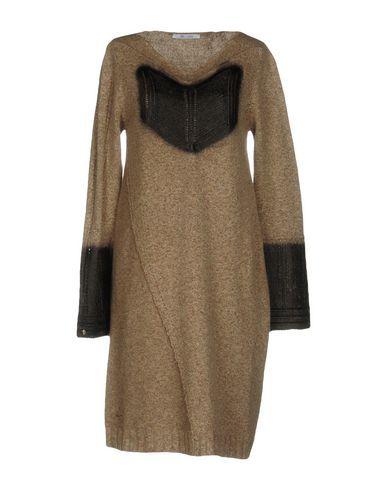 OBLIQUE CREATIONS Women's Short dress Khaki 2 US