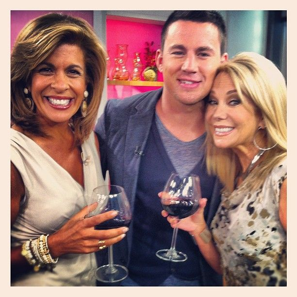 Hoda and channing tatum and kathie lee people id like to meet hoda and channing tatum and kathie lee channing tatummeet m4hsunfo