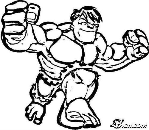 super hero squad show coloring pages