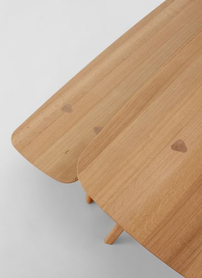 Thomas Feichtner Interio Austria Collection Design Thomas Feichtner 2015 Material Oak Wood Tisch Stube Design