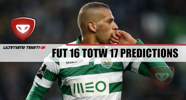 FUT 16 TOTW 17 Predictions Team of the Week Predictions