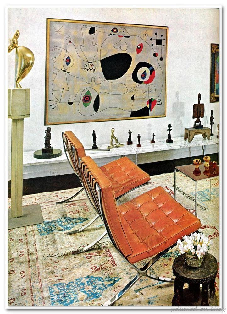 70s Coffee Table Book Of Interior Decoration Design Mid Century