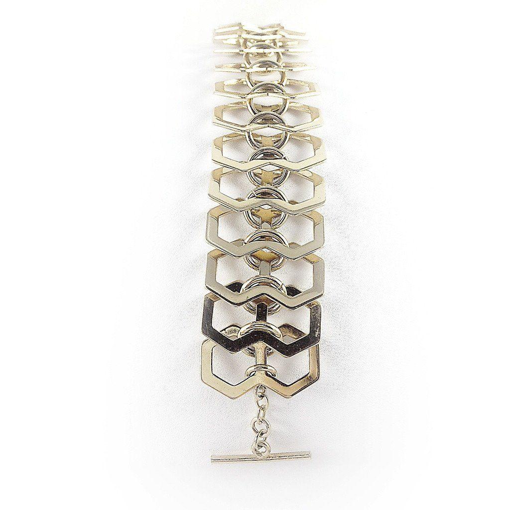 Deco chain link bracelet products pinterest products