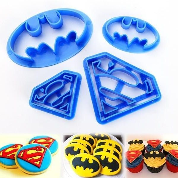 and more Biscuit cookie cutter Fondant superman Super heroes Avangers Iron man