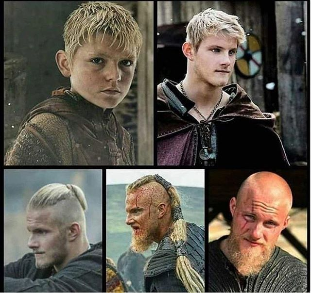 The Evolution Of Our Bjorn In The Series Vikings Historyvikings Bjorn Bjornironside Vikings Historyvikings Bjorn Vikings Vikings Ragnar Vikings