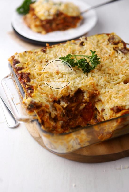 Resep Lasagna Bolognese Makanan Minuman Makanan Resep