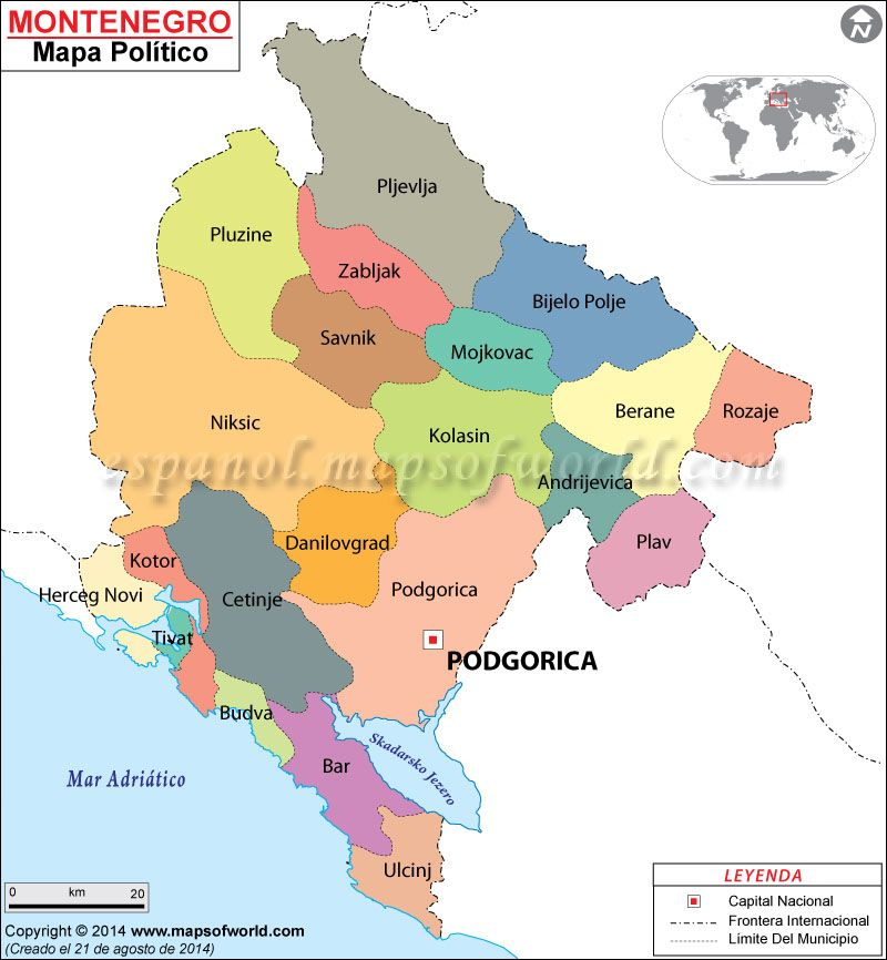 mapa croacia montenegro Montenegro Mapa | Mapa de Países | Pinterest | Montenegro mapa croacia montenegro
