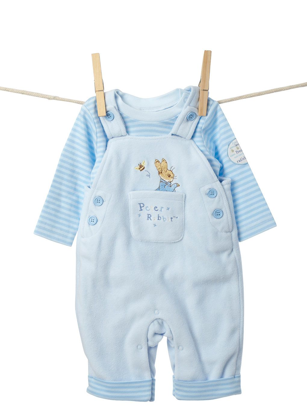 choice of sizes and colours New Peter Rabbit Baby Sleep Suit//Baby grow