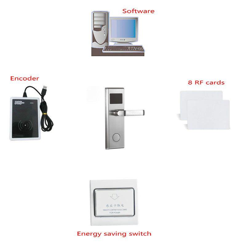 Digital rf card hotel key card lock with pro usb card system 1pc digital rf card hotel key card lock with pro usb card system 1pc lock ccuart Images