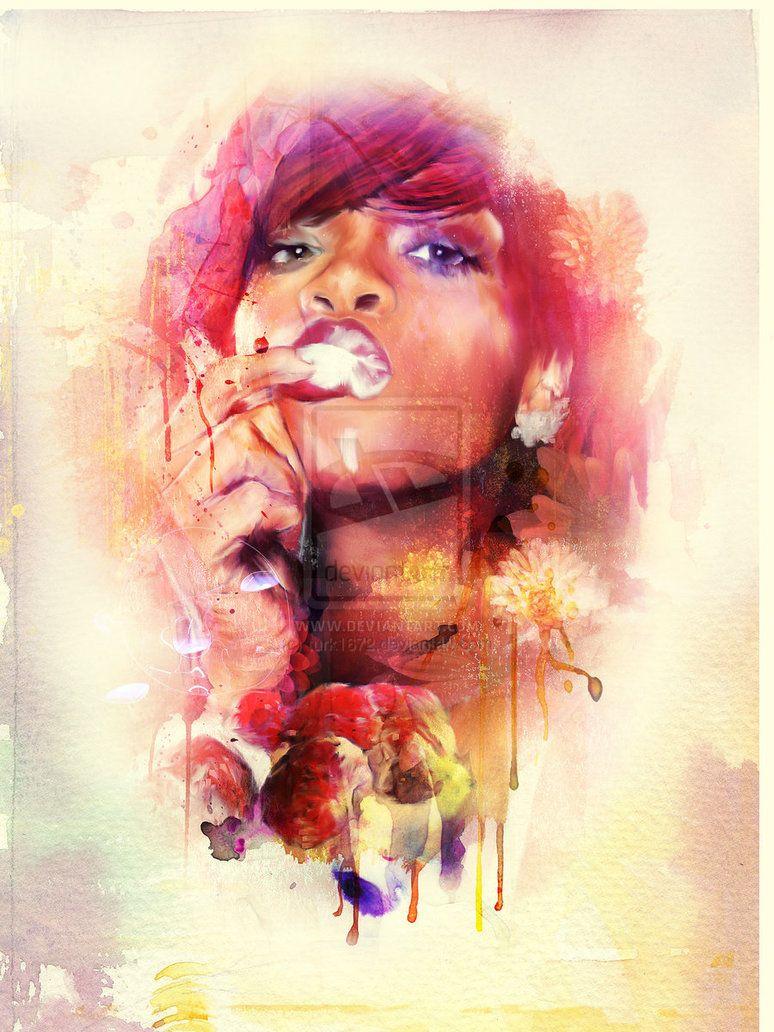 Rihanna - turk1672 [deviantART]