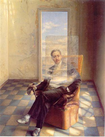 Dandy Antiguo, Eduardo Naranjo (b1944, monastery in Badajoz Province, Extremadura, Spain)
