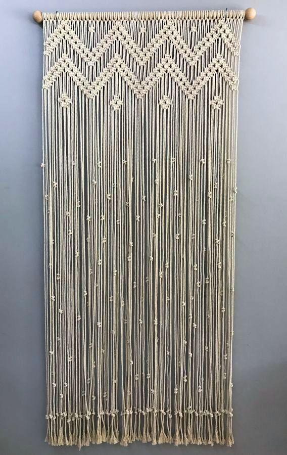 Cortinas de Macrame - Hogar - Mod 1 Cortina de mac