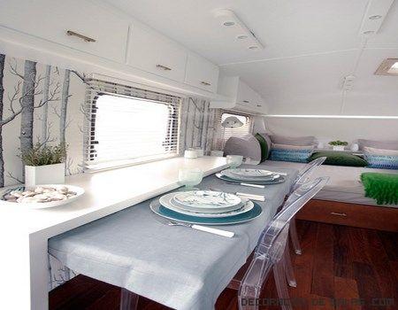 Interior de caravanas modernas camper i cases petites - Interior caravana ...