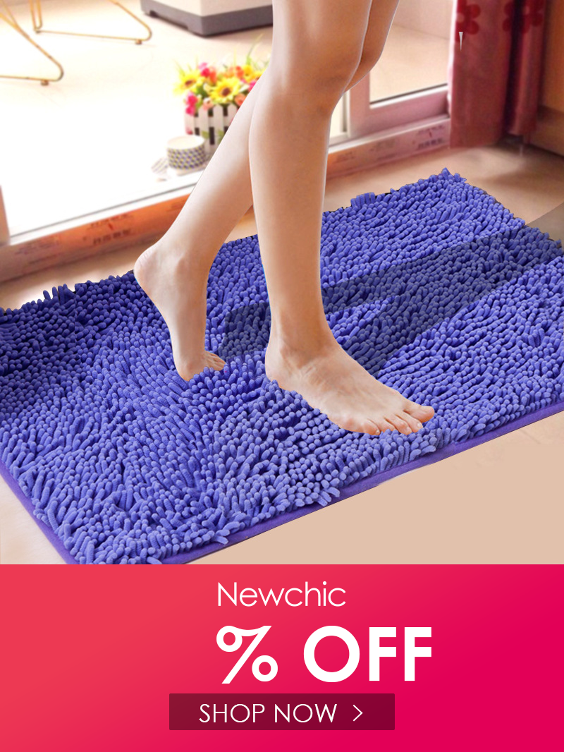I Found This Amazing 31x19 Chenille Soft Mat Bathroom Anti Slip Absorbent Carpet Door Mat Shaggy Floor Rug With In 2020 Bath Mat Rug Rugs On Carpet Shower Bath Mats