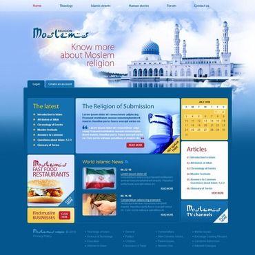 Web Templates Flash Templates Template Monster Website Template Web Design Software Islamic Events