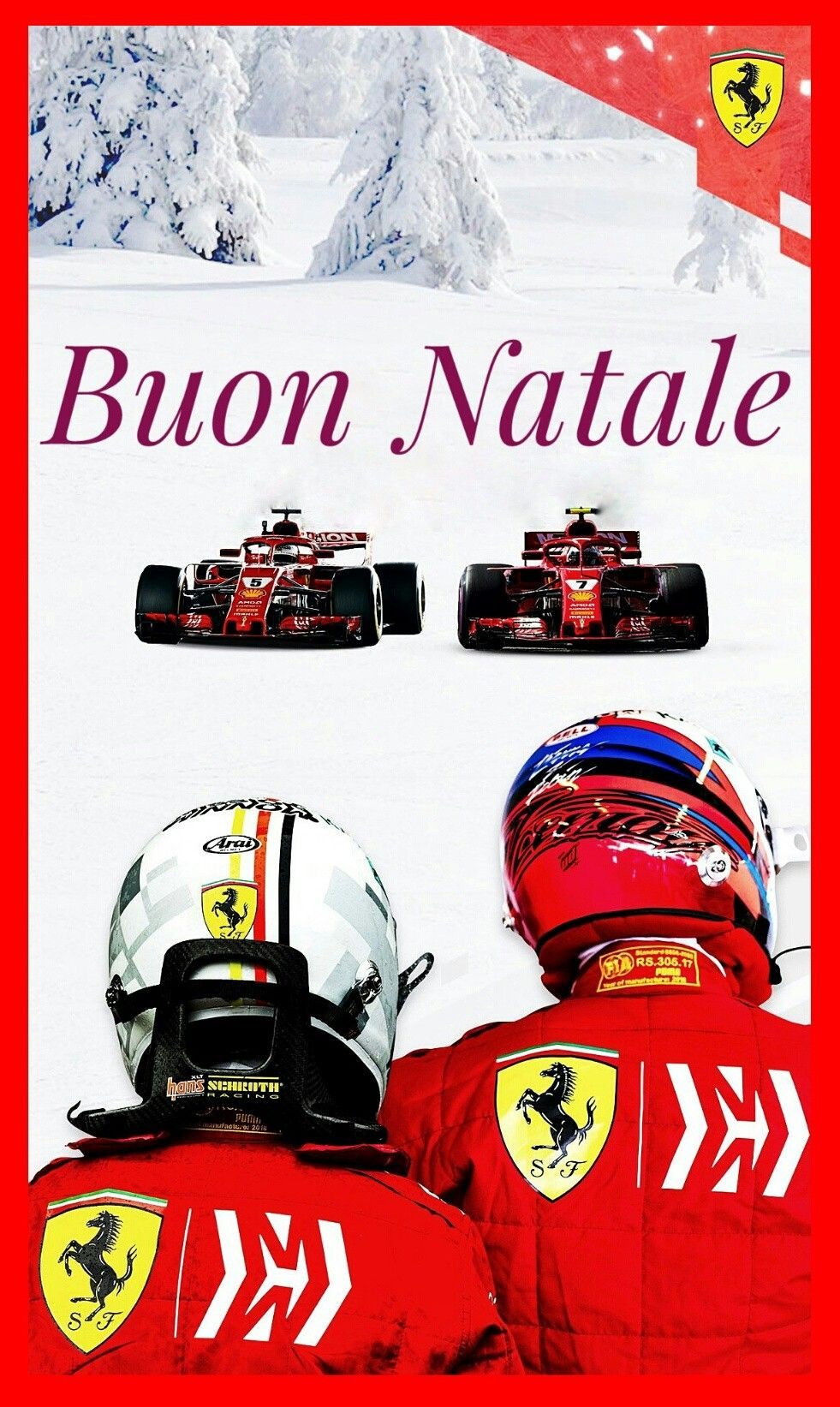 Buon Natale Ferrari.Buon Natale Season S Greetings From Everyone At Scuderia Ferrari As One Season Comes To An End It S T Red Season Motorsport Events Time To Celebrate