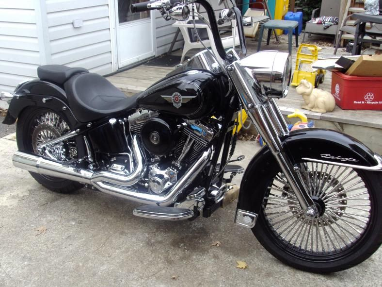Fat Boy Pictures - Page 227 - Harley Davidson Forums I love these wheels