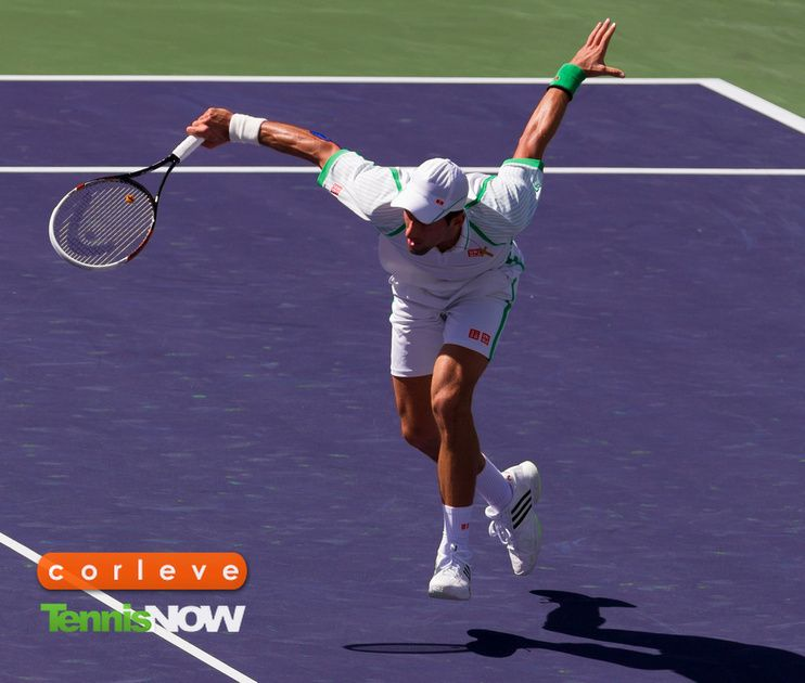 The Fluid And Nimble Novak Djokovic In Action Wta Tennis Tennis Players Tennis
