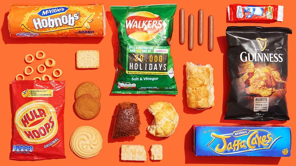 12 Beloved British Snack Foods Missing from Your Life