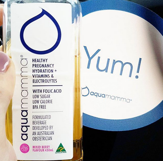 """""""aquamumma has helped me keep hydrated during"""