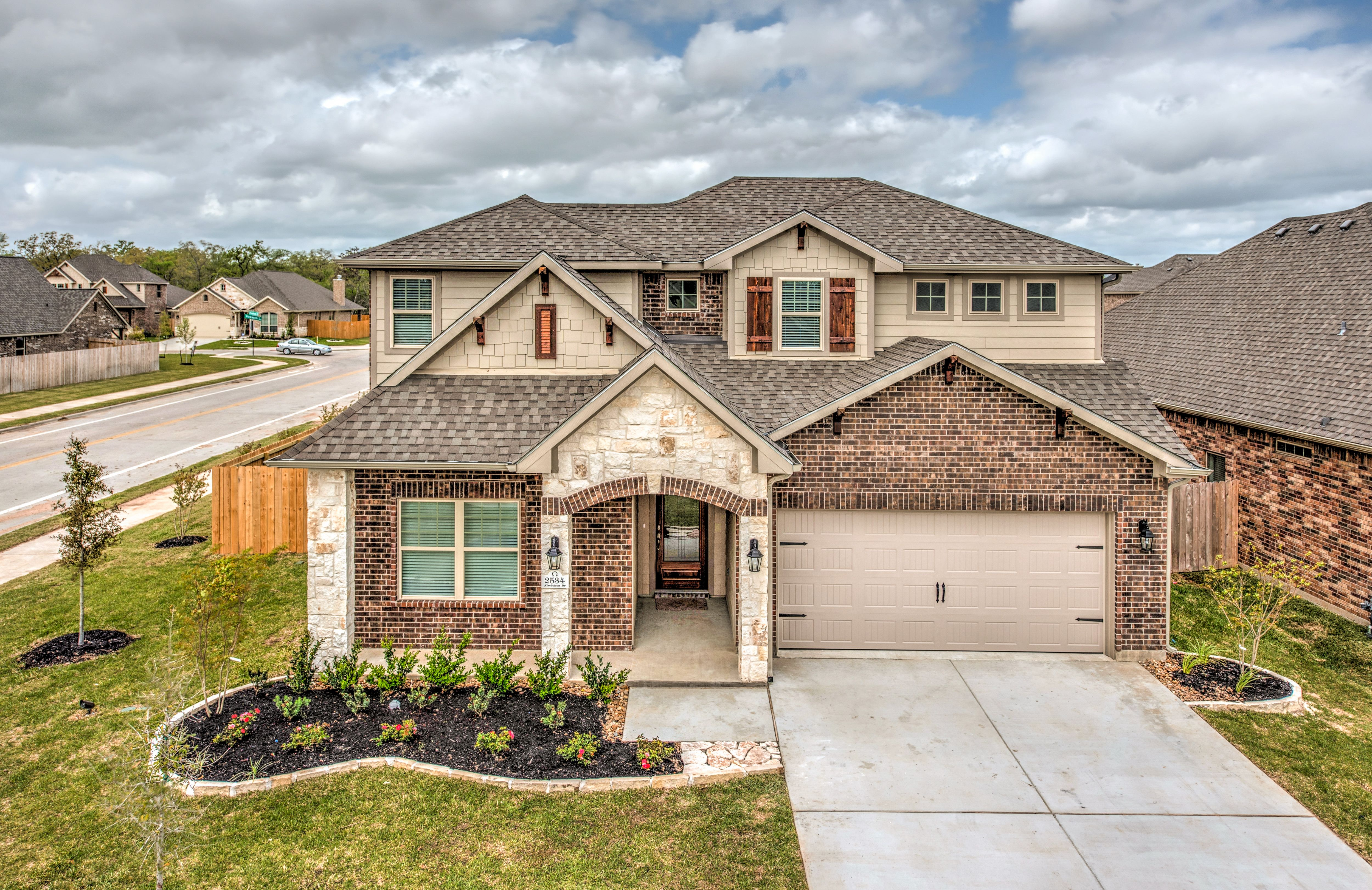 The Beautiful New Model Home By Omega Builders In Castlegate Ii Model Homes Dream House Home