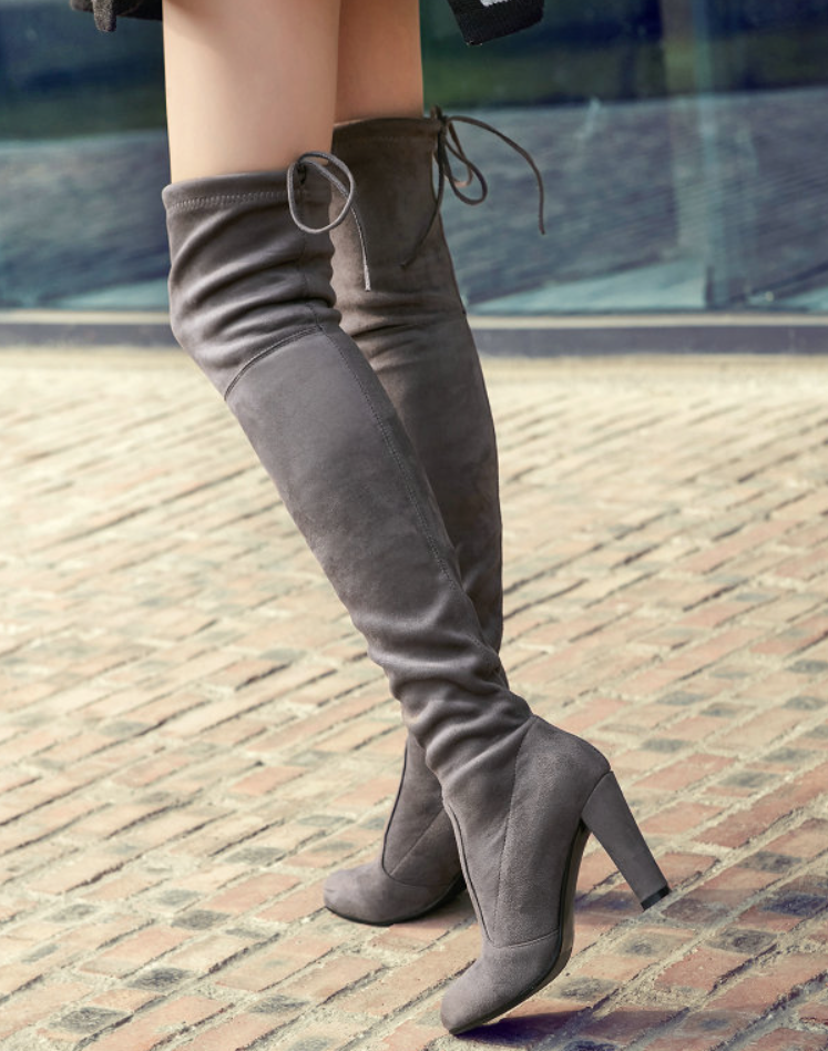 356000befe STEP OUT IN THIS SEASON'S HOTTEST BOOTS! Welcome to our store! - Stretch  manmade suede upper material, is High Quality! When you receive will be  very happy!