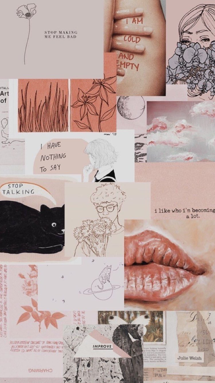 Pin By Mikayla Grace On B A C K G R O U N D S Aesthetic Collage