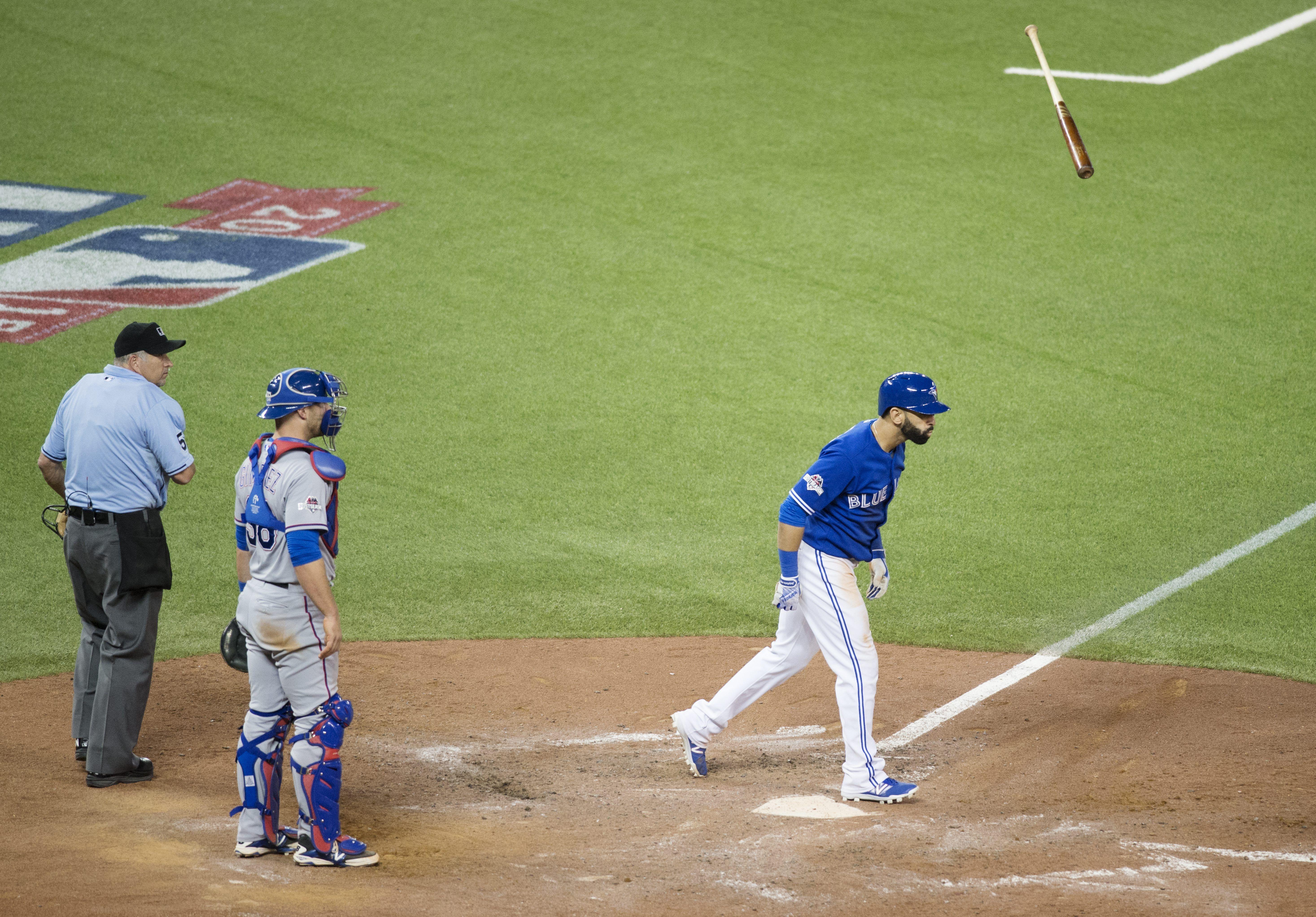 Image result for jose bautista bat flip | Toronto Blue Jays | Pinterest