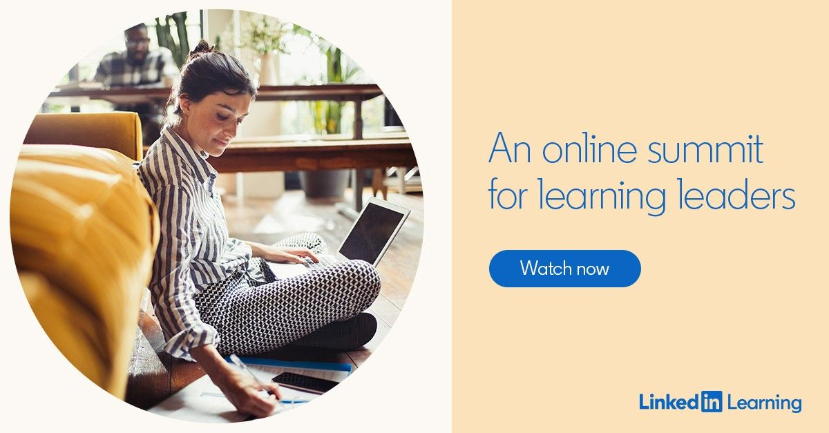 An online summit for learning leaders in 2020 (With images