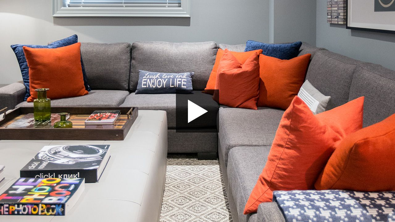 Designer Brian Gluckstein takes us through the 2017 Princess Margaret Showhome's basement. See the gym, craft room, playroom, games' area and TV lounge.