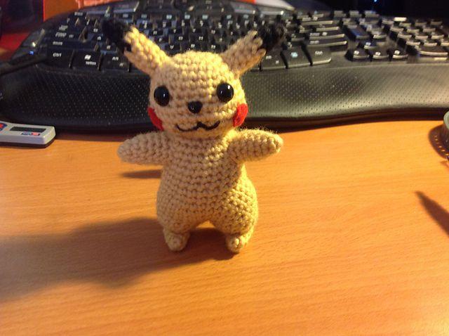 Pikachu - Pokemon Character - Free Amigurumi Crochet Pattern - PDF ...