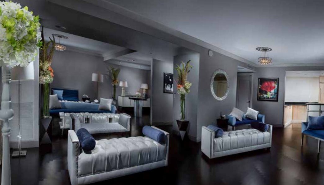 Cosmopolitan's Wedding Suite. Exchange vows in the stylish