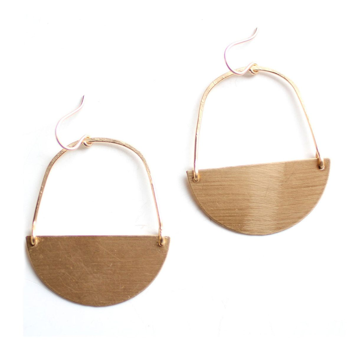 Semicircle Earrings