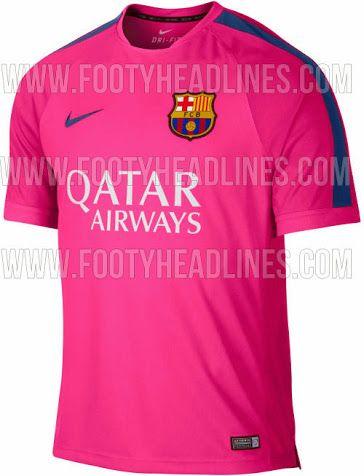 1542fc0c11 Nike vestirá de rosa al FC Barcelona la próxima temporada ...
