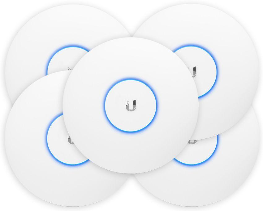 Ubiquiti Unifi Ap Ac Pro Indoor Outdoor Access Point 5 Pack Indoor Hot Spot Wifi