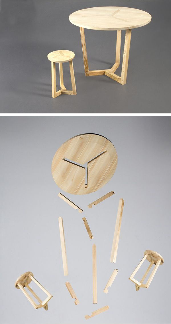 Christian Ferrara The Ter Table And Stool Things