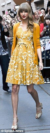 Versatile: The 24-year-old star has previously described her own style as 'feminine, leggy and ever-changing