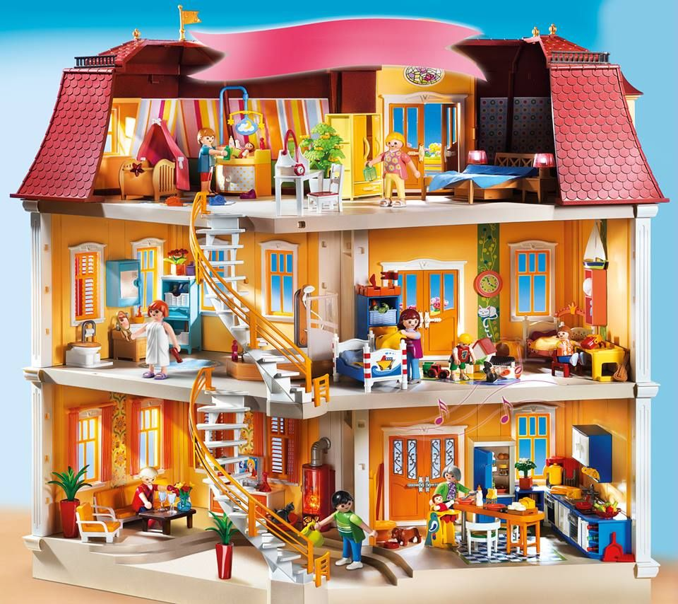 Playmobil Dollhouse Küche Its Every Little Girl's Dream To Have A Dollhouse. #