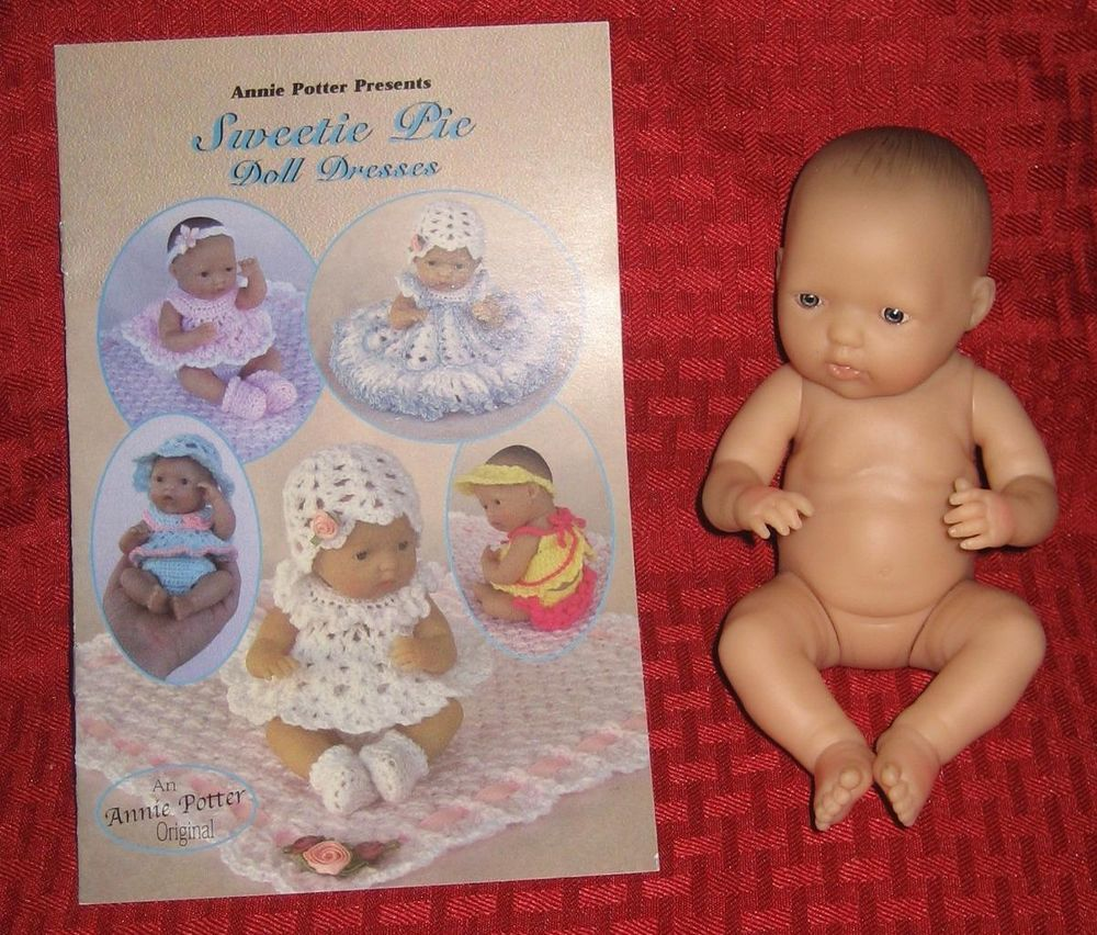 Crochet Sweetie Pie  Doll Dresses  Patterns  Annie Potter Original