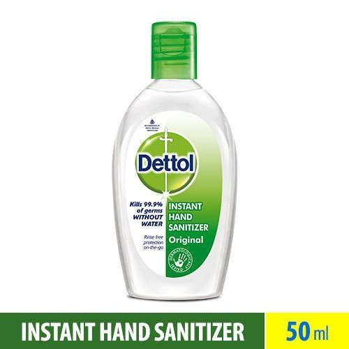 Dettol Refresh Instant Hand Sanitizer 50ml Hand Sanitizer Hands