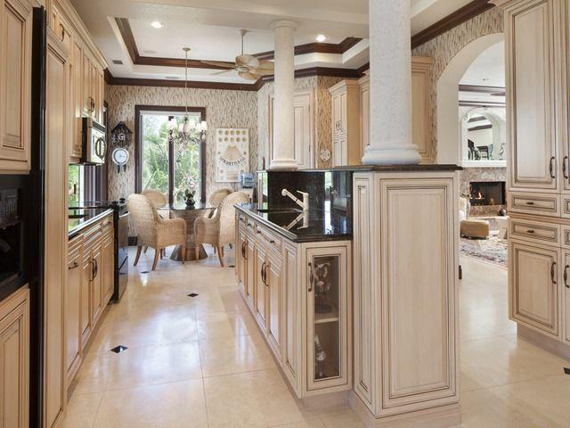 Traditional Kitchen Bonita Bay Bonita Springs Florida Custom Kitchens Traditional Kitchen Luxury Kitchens