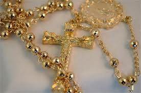 Golden Rosary - Gouden rozenkrans