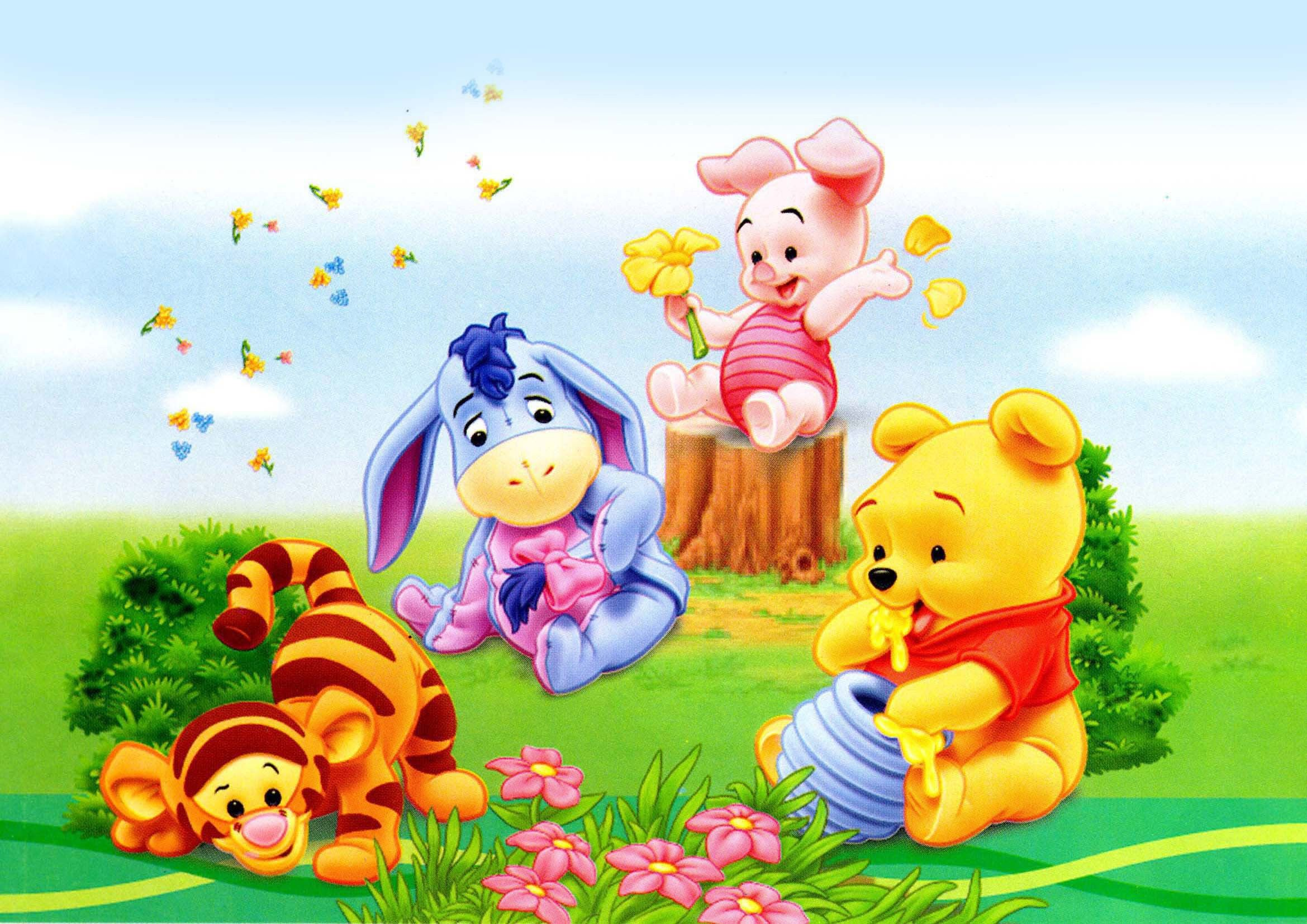 e61c9457f1b7 Baby pooh and friends